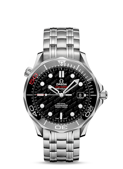 Réplique Omega Seamaster Diver 300 Co-Axial 41 mm James Bond 50th anniv 212.30.41.20.01.005 Montre