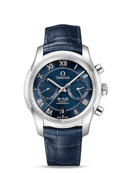 Réplique Omega De Ville Co-Axial Chronograph 431.13.42.51.03.001 Montre
