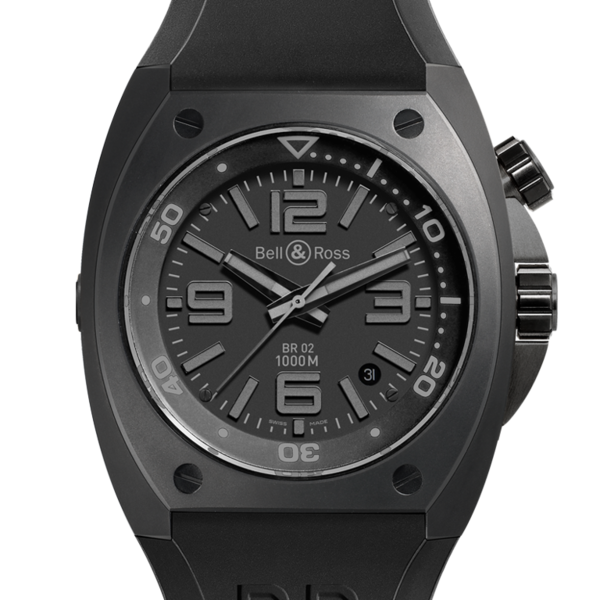 Réplique Bell & Ross Marine automatique BR 02-92 PHANTOM Montre