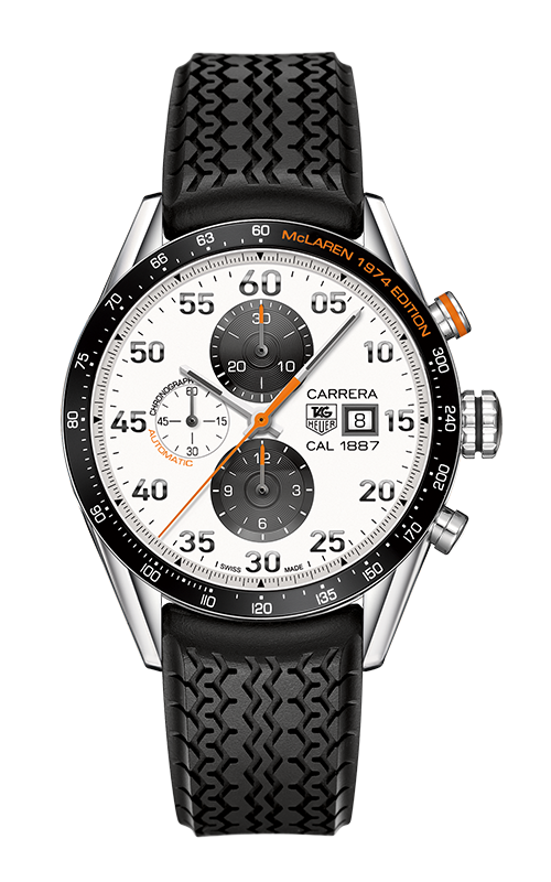 Réplique Tag Heuer Carrera Calibre 1887 Chronograph McLaren 1974 Limited CAR2A12.FT6033 Montre