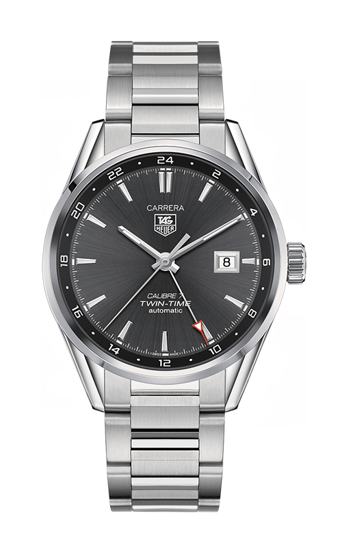 Réplique Tag Heuer Carrera Calibre 7 Twin-Time Automatique Chronograph 41 WAR2012.BA0723 Montre