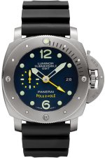 Copie de Panerai Luminor Submersible 1950 3 Jours GMT Titanio 47mm PAM00719