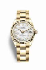 Copie de Rolex Datejust 31 jaune 18 ct 278278