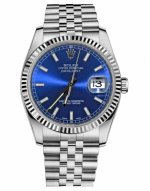 Réplique Rolex Datejust 36mm Blue Steel Dial Jubile Bracelet 116234 BLSJ Montre