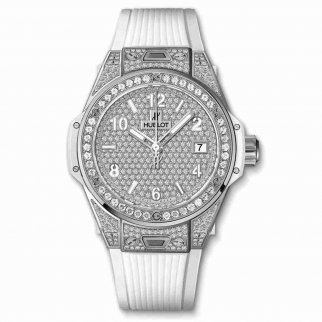 Copie de Hublot Big Bang Acier Blanc Plein 39mm 465.SE.9010.RW.1604
