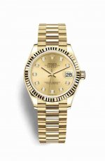 Copie de Rolex Datejust 31 jaune 278278