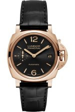 Copie de Panerai Luminor Due 3 Jours Oro Rosso 38mm PAM00908