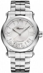 Réplique Chopard Happy Sport moyen automatique 36mm Femme 278559-3002 Montre