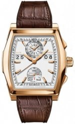 Réplique IWC Da Vinci Calendrier perpetuel Digital Rose or IW376107 Montre