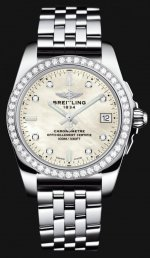 Breitling Galactic 36 A7433053/A780-376A Wohommes' Montre