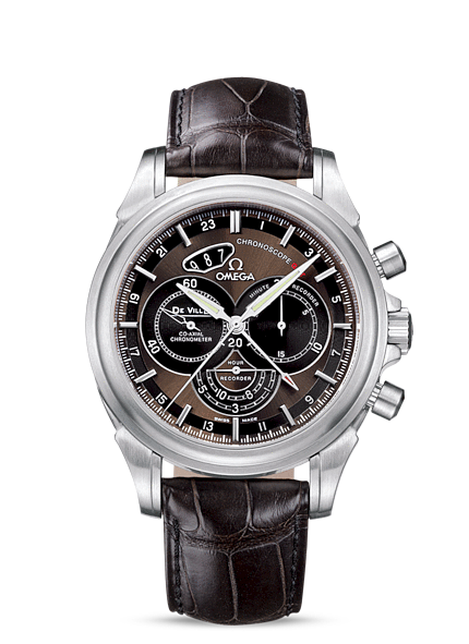 Réplique Omega Deville Co Axial Chronoscope Gmt hommes 422.13.44.52.13.001 Montre