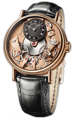 Réplique Breguet Tradition automatique Skeleton cadran de 18 kt Montre